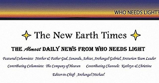 Notizie dei tempi della Terra, 25 marzo 2016.